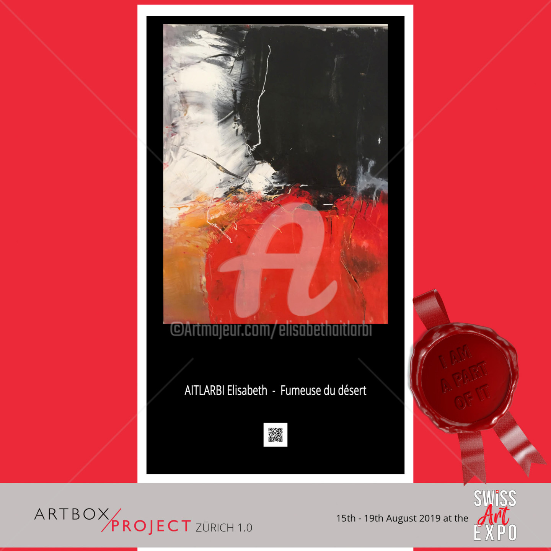 Elisabeth Ait Larbi-Mangourny - Fumeuse du désert
