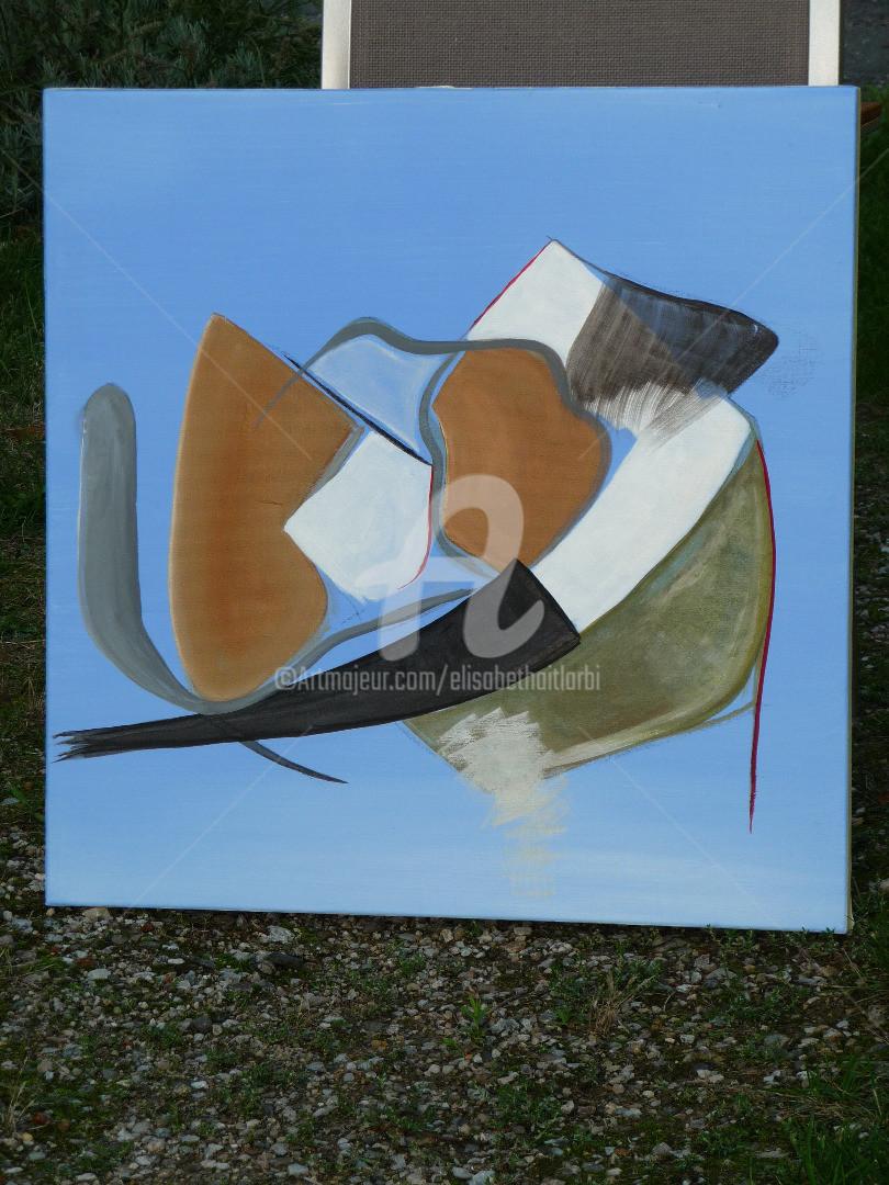 Elisabeth Ait Larbi-Mangourny - méditation - acrylique sur toile